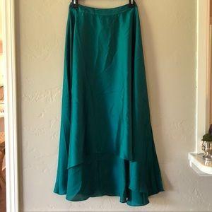 NWT Silky midi skirt!